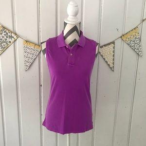 Ralph Lauren Polo Golf Sleeveless Polo Shirt